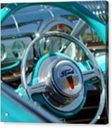 1947 Ford Deluxe Convertible Steering Wheel Acrylic Print