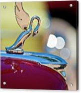 1947 Packard Coupe Hood Ornament Acrylic Print