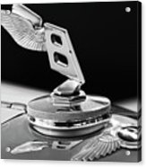 1948 Bentley Hood Ornament 3 Acrylic Print