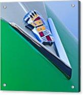 1948 Cadillac Emblem Acrylic Print