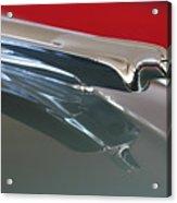 1948 Cadillac Series 62 Hood Ornament Acrylic Print