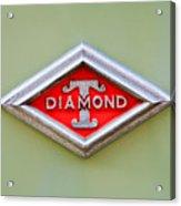 1948 Diamond T Emblem -ck0879c Acrylic Print