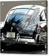 1948 Fastback Cadillac Acrylic Print
