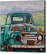 1948 Ford Pickup Rusty Gem  Acrylic Print