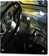 1948 Ford Super Deluxe Dash Acrylic Print