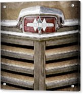 1948 International Hood Emblem -0227ac Acrylic Print