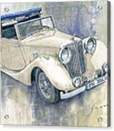1948 Jaguar Mark Iv Dhc Acrylic Print