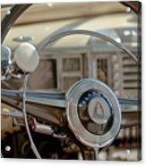 1948 Plymouth Deluxe Steering Wheel Acrylic Print