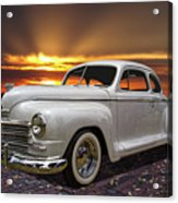 1948 Plymouth Two Door Coupe Acrylic Print