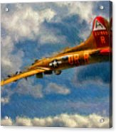 1949 Boeing B-17b Flying Fortress Acrylic Print