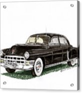 1949 Cadillac Fleetwood Sedan Acrylic Print