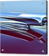 1949 Cadillac Hood Ornament Acrylic Print