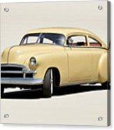 1949 Chevrolet Custom Fleetline Sedan II Acrylic Print