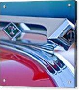 1949 Diamond T Truck Hood Ornament 3 Acrylic Print