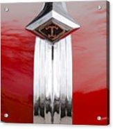 1949 Diamond T Truck Hood Ornament Acrylic Print