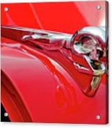1949 Dodge Truck Hood Ornament Acrylic Print