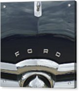 1949 Ford Hood Ornament 4 Acrylic Print