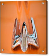 1949 Lincoln Coupe Hood Ornament Acrylic Print