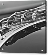 1949 Plymouth Hood Ornament 2 Acrylic Print by Jill Reger