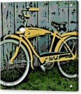 1949 Shelby Donald Duck Bike Acrylic Print