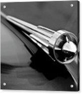 1949 Studebaker Champion Hood Ornament 3 Acrylic Print