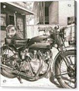 1949 Vincent Rapide Hrd Acrylic Print