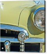 1950 Chevrolet Fleetline Grille Acrylic Print