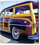 1950 Chrysler Royal Woody Acrylic Print