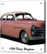 1950 Dodge Wayfarer 2 Door Sedan Acrylic Print
