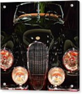 1950 Jaguar Xk120 Alloy Roadster . 7d9179 Acrylic Print by Wingsdomain Art and Photography