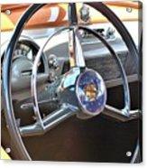 1950 Olds - Oldsmobile 88 Dashboard Acrylic Print
