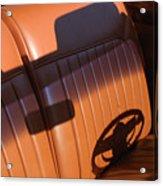 1950 Oldsmobile Rocket 88 Convertible Interior Acrylic Print