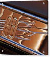 1950 Oldsmobile Rocket 88 Emblem 2 Acrylic Print