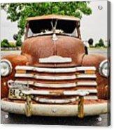 1950 Tn Chevy Pick Up Acrylic Print