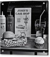 1950's Drive-in Acrylic Print