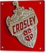 1951 Crosley Hood Emblem Acrylic Print