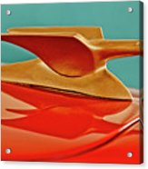 1951 Crosley Hot Shot Hood Ornament 2 Acrylic Print