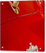 1951 Crosley Hot Shot Hood Ornament Acrylic Print