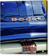 1951 Dodge Pilot House Pickup Grille Acrylic Print