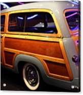 1951 Ford Country Squire - 7d17485 Acrylic Print by Wingsdomain Art and Photography