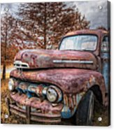 1951 Ford Truck Acrylic Print