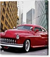 1951 Mercury 'candy Custom' Sled L Acrylic Print