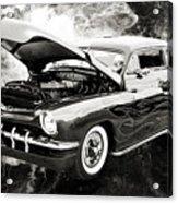 1951 Mercury Classic Car Photograph 001.01 Acrylic Print