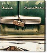 1951 Nash Ambassador Hydramatic Acrylic Print