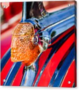 1951 Pontiac Chief Hood Ornament Acrylic Print