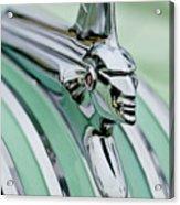 1951 Pontiac Streamliner Hood Ornament 3 Acrylic Print
