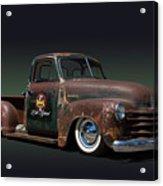 1951 Rusty Chevrolet Pickup Truck Acrylic Print