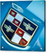 1951 Studebaker Hood Emblem Acrylic Print