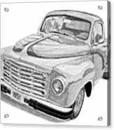 1951 Studebaker Pickup Truck Acrylic Print by Daniel Storm