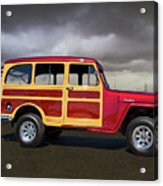 1951 Willy's Jeepster Acrylic Print